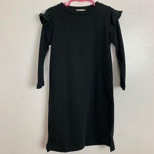 Crewcuts Everyday Girl's Ruffled Trim Casual Dress